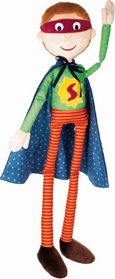 Sigikid Puppe Himpel Pimpel Superheld 040571 bei Papiton bestellen.