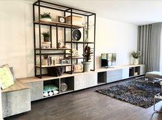 Industrieel wandmeubel/ TV meubel