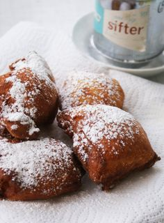 of hush puppies ricotta sweet potato beignets had these at a lunch ...