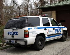 nypd   NYPD Highway Patrol Unit 3 Chevy Tahoe Police Car, Queens, New York ...