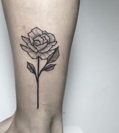 flower tattoo designs leg 60