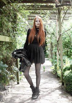 Olivia Emily - UK Fashion Blog.: Dark Tulle.