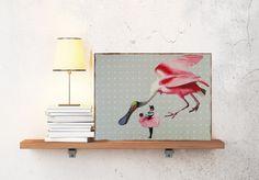 Kunstdruck Holztafel von Atelier Art-istique auf DaWanda.com