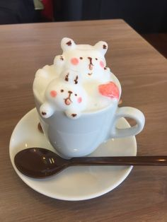 3D~Latte Art, Lovely & Creative. ❤☕