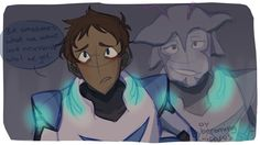 """""""I'm gonna miss you, buddy"""" Part 3 Final I think maybe blue see Blaytz in Lance. Form Voltron, Voltron Ships, Voltron Klance, Lance Angst, Klance Fanfiction, Voltron Comics, Lance Mcclain, Letting Go Of Him, Space Cat"""