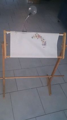 Embroiderers' Frame And Stand