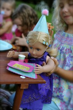 American Girl Doll birthday party for girls