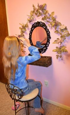 Decorating Your Daughter's Room - http://susanevans.org/blog/decorating-my-daughters-room/