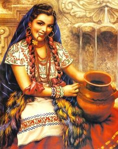 Artworks by Jesus Helguera Mexican Artwork, Mexican Paintings, Mexican Folk Art, Mexican Heritage, Mexican Style, Jorge Gonzalez, Spanish Woman, Mexico Art, Mexican Artists