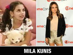 "Milena Markovna ""Mila"" Kunis is an American actress. In 1991, at the age of seven, she moved from the Soviet Union to Los Angeles with her family. After being enrolled in acting classes as an after-school activity, she was soon discovered by an agent. She appeared in several television series and commercials, before acquiring her first significant role prior to her 15th birthday, playing Jackie Burkhart on the television series That '70s Show."