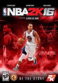 NBA 2k16. Steph is on the cover!! I can't wait to play it!!!