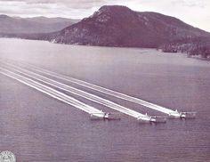 Catalina formation landing!