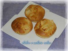 Muffin preparati da Adele Luciani seguendo questa ricetta http://imenudibenedetta.blogspot.com/2012/10/muffin-alle-mele.html