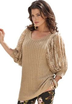 Plus Size Clothing - Fashion for Plus Size women at Roaman's..... I want this.... Beautiful: