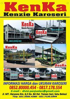 KAROSERI TRUCK BAK BESI LIFT GATE ANGKUTAN MOTOR >> KAROSERI KENKA Gate, Basketball Court, Trucks, Truck, Track