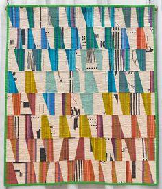 Arne by Rossie Hutchinson, 2013 | The Modern Quilt Guild