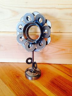 Metal Flower by TheLittleMetalShop on Etsy, $25.00