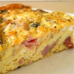 Have you ever make Baked Denver Omelet anyway? To make Baked denver omelet is easy and quick. This recipes is my favorite recipes for morning breakfast. Breakfast And Brunch, Breakfast Items, Breakfast Dishes, Breakfast Recipes, Breakfast Omelette, Breakfast Bake, Quiche Recipes, Brunch Recipes, Omelettes