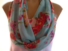 Gorgeous infinity scarf