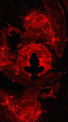 Itachi Uchiha Red Moon Shinobi 4k Vertical Wallpaper In 2021 Itachi Uchiha Naruto Uzumaki Art Uchiha
