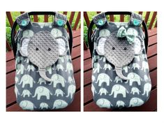 Ready To Be Shipped Fitted Elephant Car Seat Canopy With Peek-A--Boo Opening Choose With Bow Or No Bow by lindasnd on Etsy Baby Carrier Cover, Canopy Cover, Fabric Combinations, Baby Must Haves, Baby Shower Gender Reveal, Cute Cars, Everything Baby, Handmade Items, Handmade Gifts