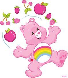 Care Bears: Cheer Bear Juggling Fruit
