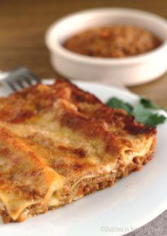 Lasagne al ragù alla bolognese #lasagne #classiche #ricetta #ragù #formaggio #pasta