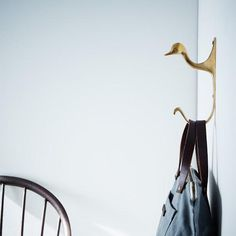 For all your hang-ups. #home #design #organize #brass #love