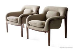 Bill Stevens Lounge Chairs for Knoll International image 7