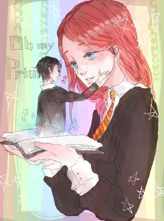 Tom Riddle jr. and Ginny Weasley