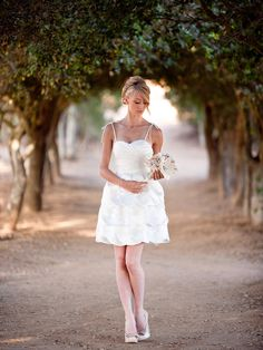 Bali Sunset Dress by Lace and Liberty Bridal Earlier this year, we took a moment to focus on short wedding dresses. Because: total chic. Since then, it's been so cool to see the amount of hit…