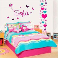Best kids room ideas for girs paint bedroom colors pink Ideas - My Home Decor Bedroom Colors, Room Decor Bedroom, Bedroom Ideas, Girls Bedroom Furniture, Girl Bedroom Designs, Little Girl Rooms, Kids Room, Decoration, Home Decor