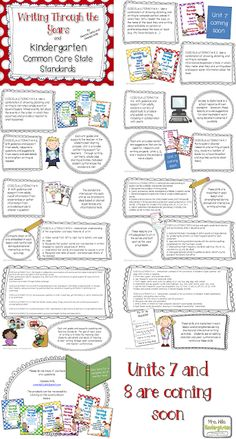 Common Core Writing and Kindergarten by Dee Dee Willis and Deanna Jump. It is not free but these 2 ladies are amazing and I find writing one of the most difficult skills to teach.
