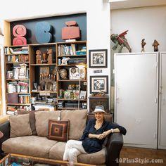 How to make your style more artistic, eclectic and personal - a style interview with Debra Rapoport   40plusstyle.com