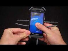 Spiderpodium Graphite Setup (Blackberry Z10)