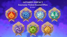 World 7, Raise Funds, Hard Enamel Pin, Pokemon, Fan, Creative, Random Stuff, Projects, Cosplay