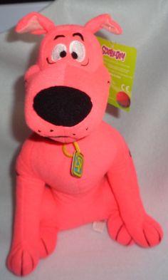 Pink Scooby-doo Hanna Barbera Toy Factory Plush Stuffed Animal
