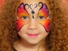 How to do butterfly face paint