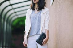 heyprettything.com: Neutral spring suit