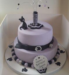 Cat Themed Cake