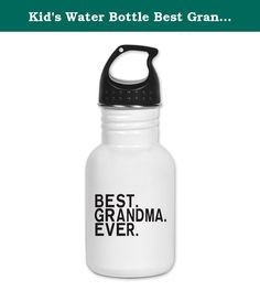 Kid's Water Bottle Best Grandma Granny Grandmother Ever. Product Number: 0001-1492072456 Perfect for school lunches or soccer games, our kid's stainless steel water bottle quenches children's thirst for individuality. Personalized for what kids love, it's both eco-friendly and compact. Made of 18/8, food-grade stainless steel. * No lining & no BPA or other toxins * Wide mouth for easy drinking * Durable, BPA-free & phalate-free screw-on top * Holds 0.35L (nearly 12 ounces) * Thin profile…