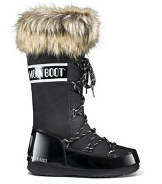 I'm getting these boots. Moon Boot Monaco Femme - Noir