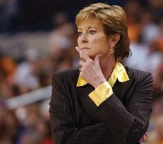 Pat Summitt  Love Basketball or not, she did alot for us ladies.  Thanks for being awesome!!