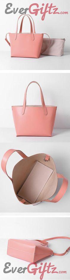 Handmade Leather Cute Personalized Monogrammed Gift Custom Purse Tote Bag Bucket Bag Handbag Shoulder Bag Purse Pink Tote Bags, Womens Tote Bags, Custom Purses, Leather Totes, Cute Pink, Handmade Leather, Bucket Bag, Purses And Bags, Shoulder Bag