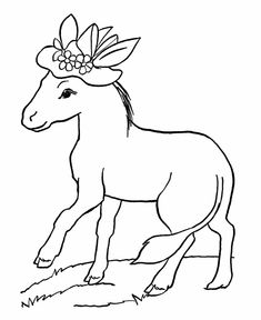 68 best donkey and mule pictures images in 2019 print coloring All Breeds of Bantam Chickens farm animal coloring pages donkey with a hat coloring page and minion coloring pages