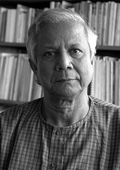 Muhammad Yunus won the Nobel Peace Prize in 2006 for his efforts to provide micro-loans to poor people which he saw as a means to giving people the opportunity to lift themselves from poverty.