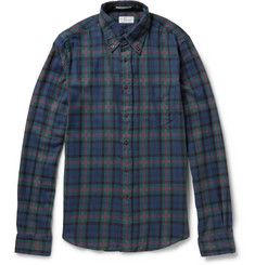 Gant RuggerButton-Down Collar Checked Cotton-Flannel Shirt