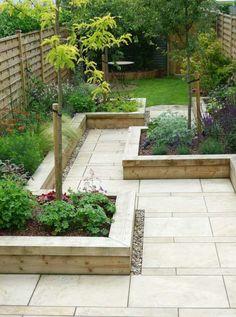 petit jardin de design minimaliste