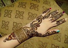 Arabic Mehndi Designs For Hands on back side