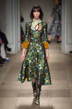 Fall 2017 RTW   Erdem Collection